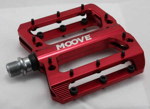 Red Polished Anodised