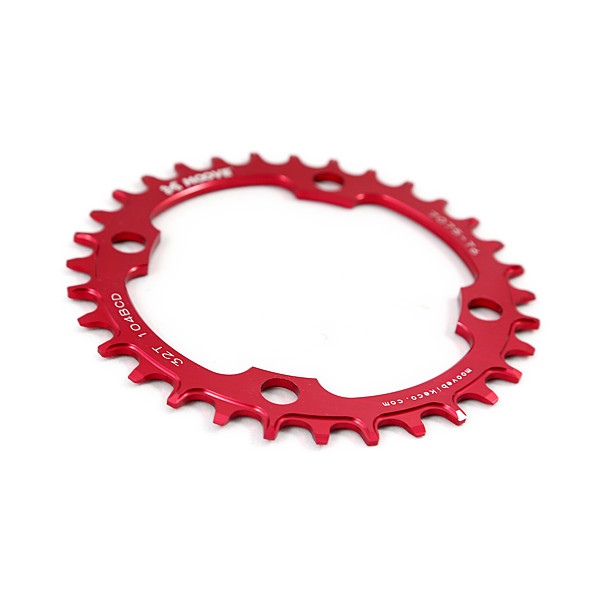 Red ano chainrings.