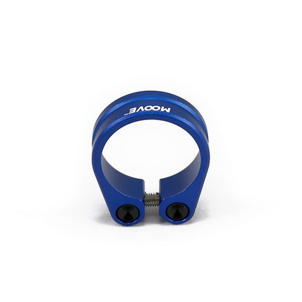 Anodised Blue Seat Clamp