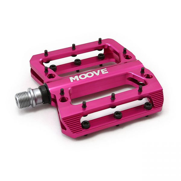 HOT PINK ANODISED PEDAL