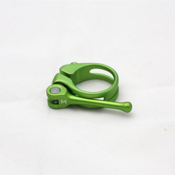 green  anodised quick release seatclamp