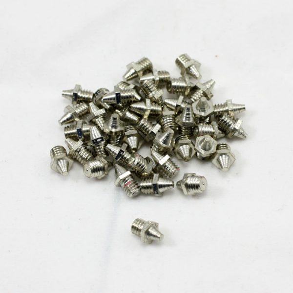 Stainless Steel pins.